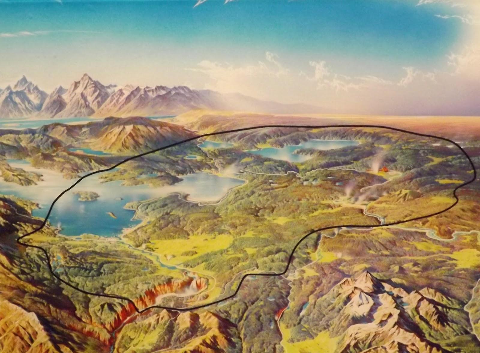Yellowstone Volcano Diagram Hand Skeleton Hot Springs And Geysers Arkansas