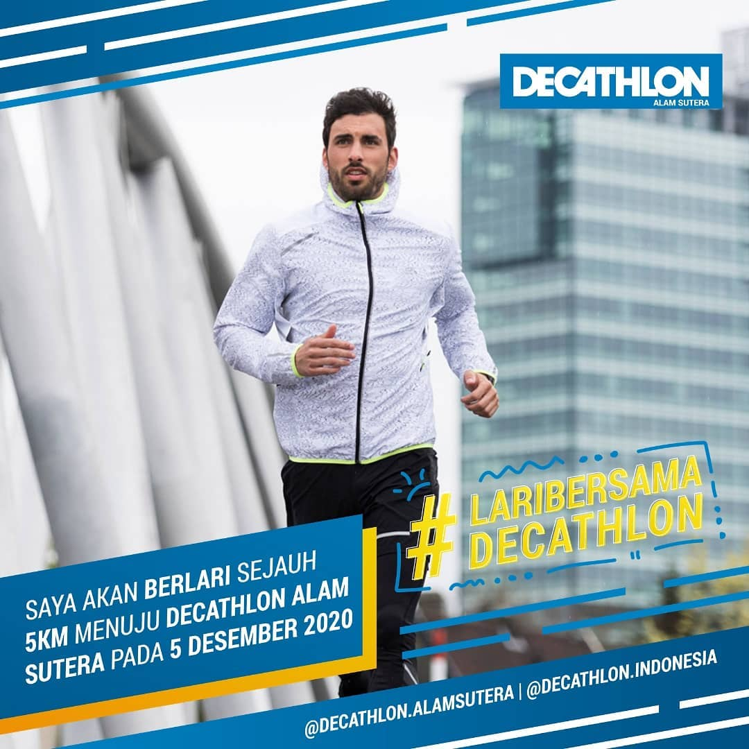 Lari Bersama Decathlon • 2020