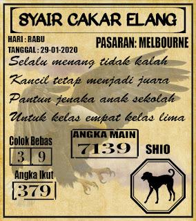 SYAIR MELBOURNE 29-01-2020