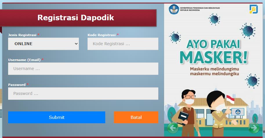 Download Aplikasi Dapodikdasmen 2021 - Ngintip Sekolah