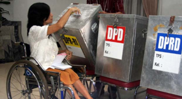 Di Sumatera Utara Pemilih Disabilitas Mencapai 11 Ribu