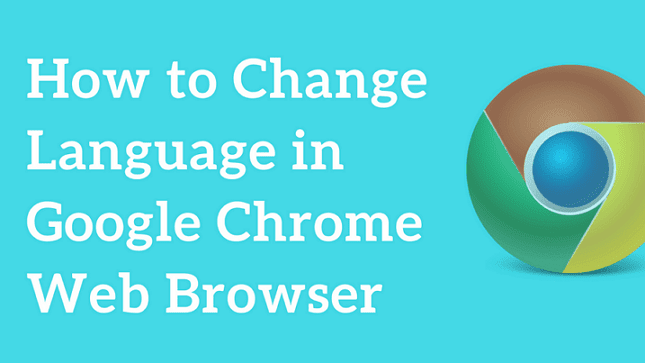 how to change language in chrome