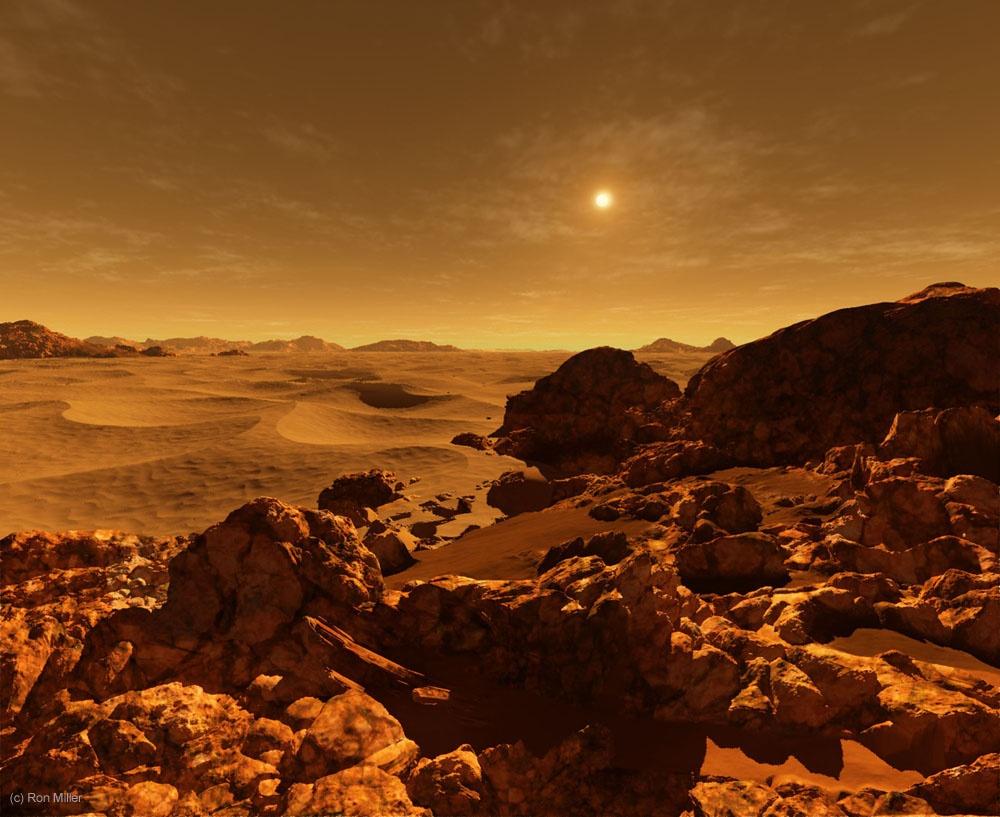 Как выглядит рассвет на разных планетах