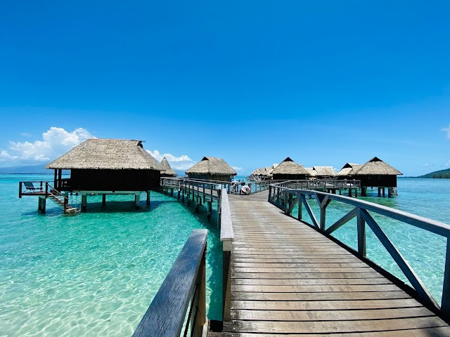 Your Guide to Booking Hilton Moorea Lagoon Resort & Spa With Points, Overwater Bungalow Upgrade Fees And Benefits For Hilton Honors Diamond Elite Members