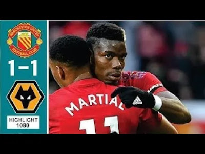 Wolves vs Man United 1-1 All Goals And Match Highlights [MP4 & HD VIDEO]