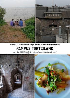 UNESCO World Heritage Sites in Netherlands Pampus Forteiland