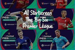 Start Screen The Big Six Premier League - PES 2017