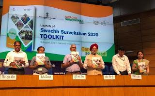 Launch-of-Swachh-Survekshan-2020-Toolkit