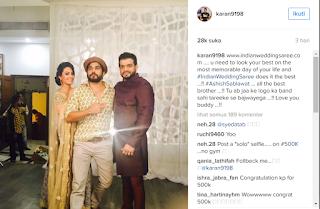 Karan Patel 'Raman' dan Anita Hassanandani 'Shagun', Mantan Pasangan Suami Istri di Mohabbatein ANTV Ini Bakal Terlibat Proyek Bareng Lagi ?