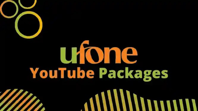 Ufone YouTube Packages 2021: Hourly, Daily, Weekly and Monthly Packages