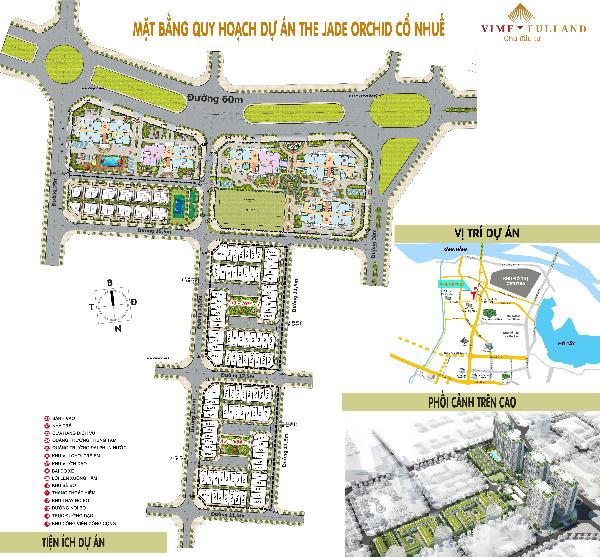 8 Lý do để đầu tư dự án The Jade Orchid - Biệt Thự Lâu Đài - Cổ Nhuế - Phạm Văn Đồng
