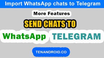 import WhatsApp chats to telegram