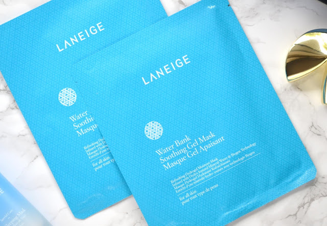 Laneige Water Bank Soothing Gel Mask Review