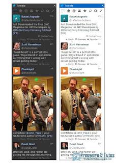 Tweetz Desktop client Twitter pour PC