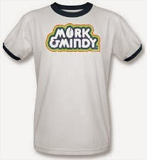 Official Mork & MIndy Ringer T-Shirt for Adults - Men