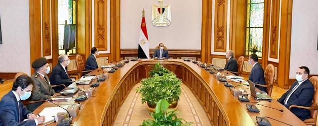 الرئيس السيسى يتابع مشروعات شركة تنمية الريف المصري الجديد