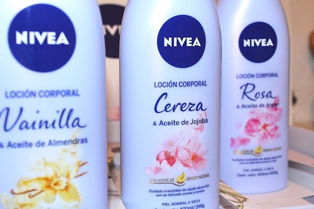 Nivea presenta sus lociones corporales con aceites naturales