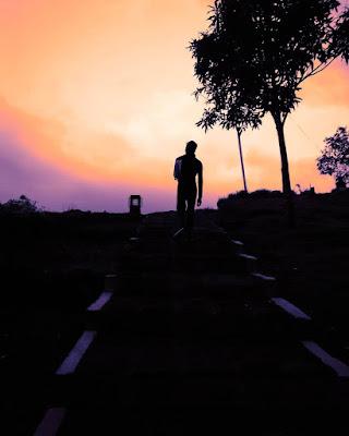 sunset gedong songo