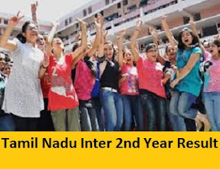 Tamil Nadu Inter 2nd Year Result 2017