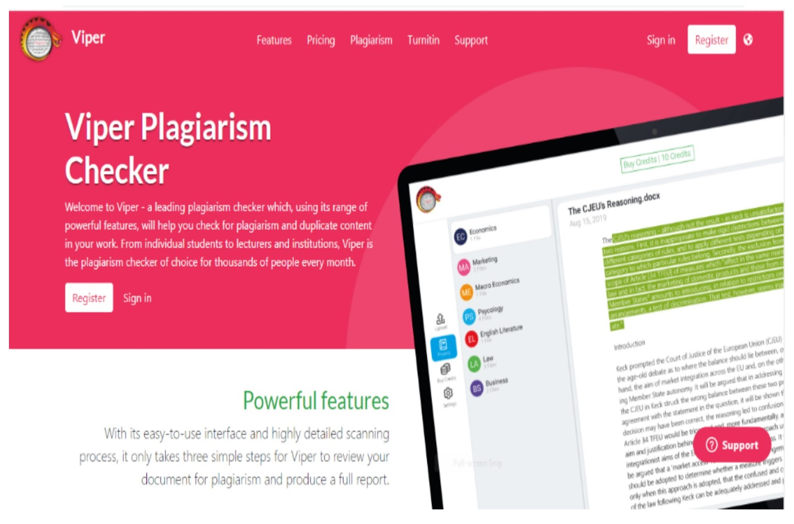 Viper Plagiarism Checker