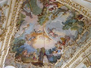 Schloss Nymphenburg, Ballroom o Steinerner Gran Hall.