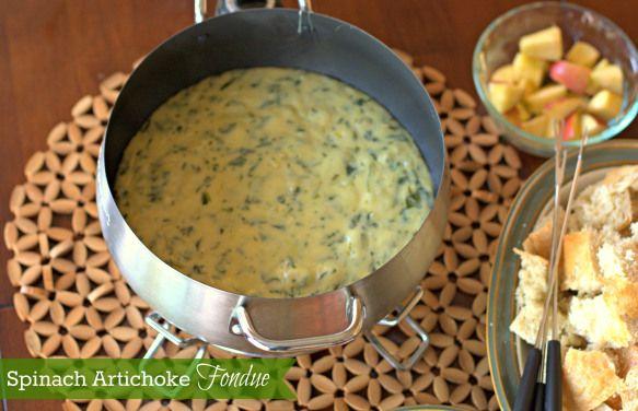 Cheese And Artichoke Fondue Recipe