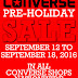 Converse Pre-Holiday Sale