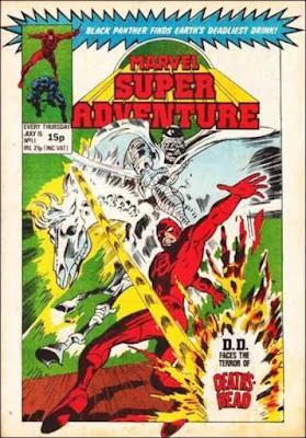 Marvel Super Adventure #11, Daredevil