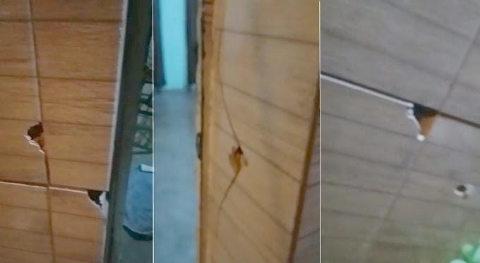 Vídeo: Residência é alvejada a tiros na noite desta sexta-feira (26) no bairro do Jatobá em Patos