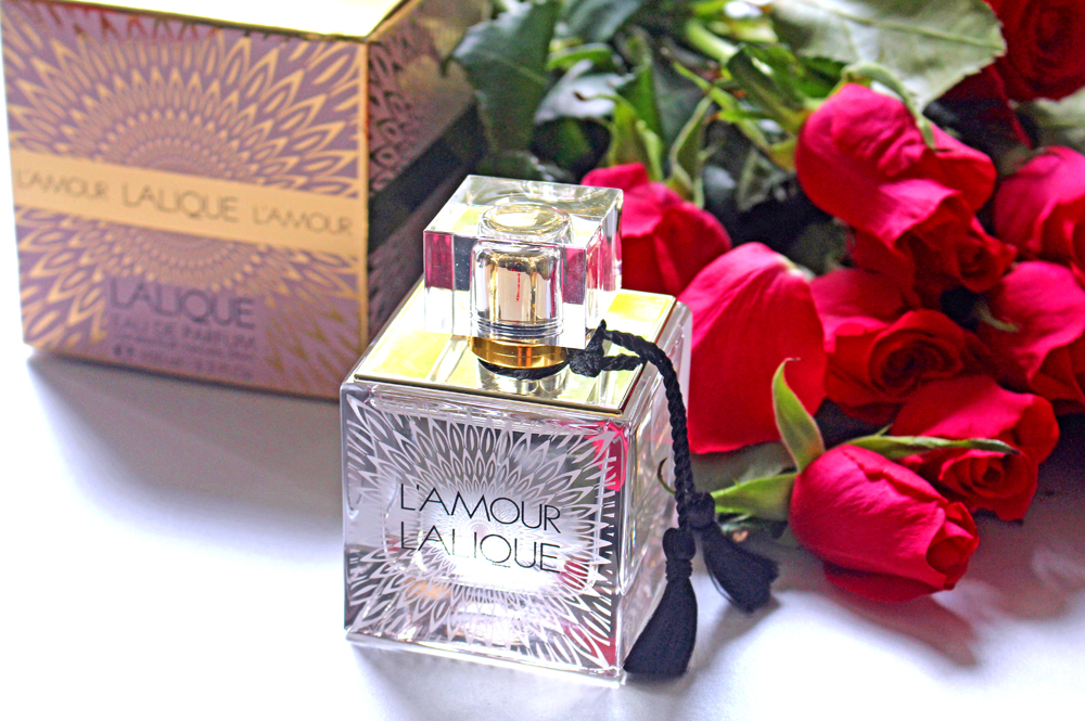 Lalique L'Amour edp 100ml fragrance - UK luxury beauty blog