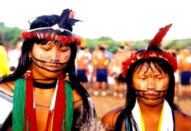 Jovens indígenas de todo o País participam de Encontro. Foto: Blog AJI