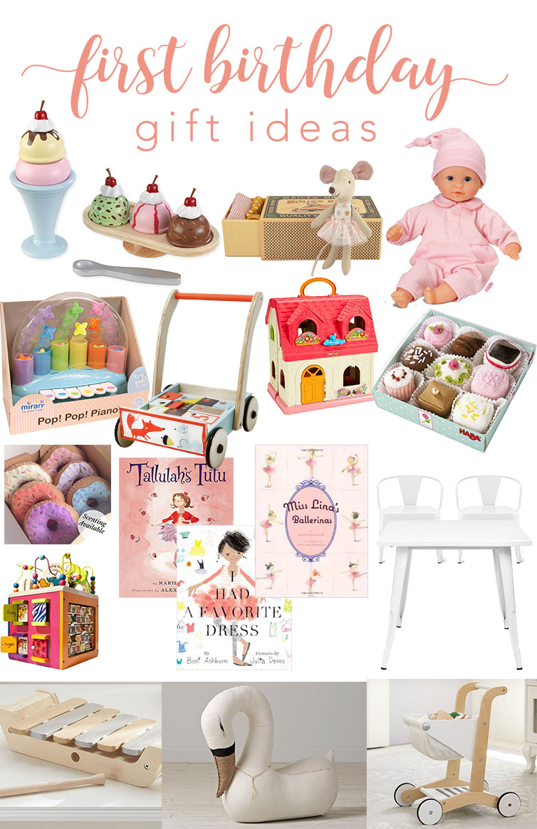 12th and white: first birthday gift ideas