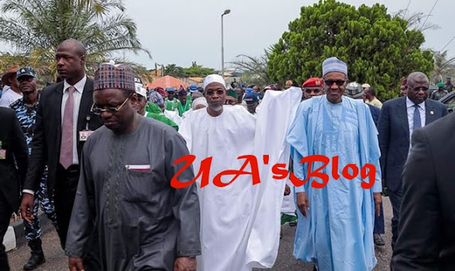 Video: Buhari Is A Criminal That Ordered The Killing Of Innocent Nigerians - Muslims Protest At National Mosque