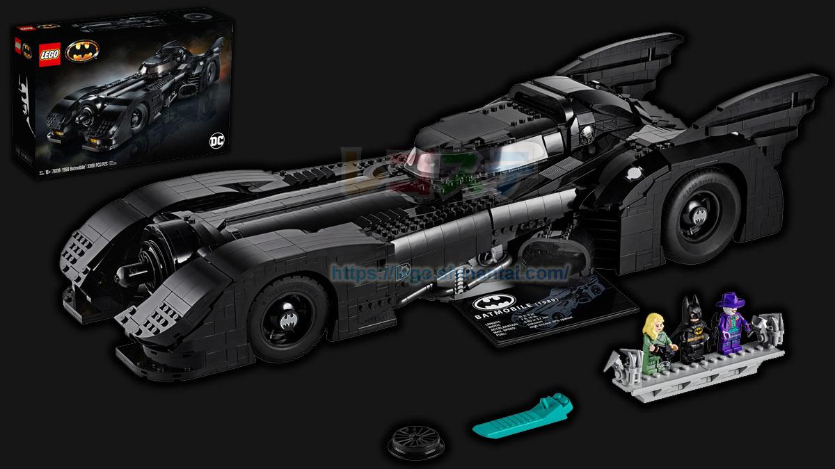 76139 1989 バットモービル:レゴ(LEGO) バットマン