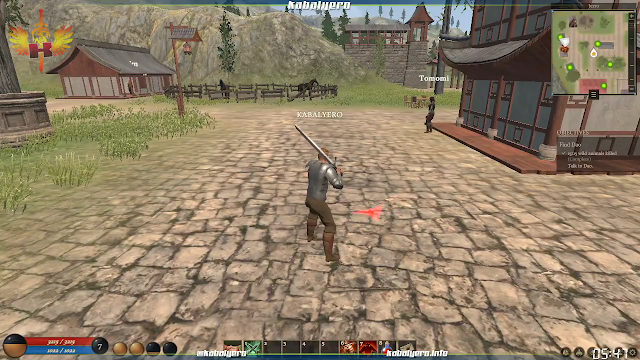 Old-school style MMORPG but not well optimized!