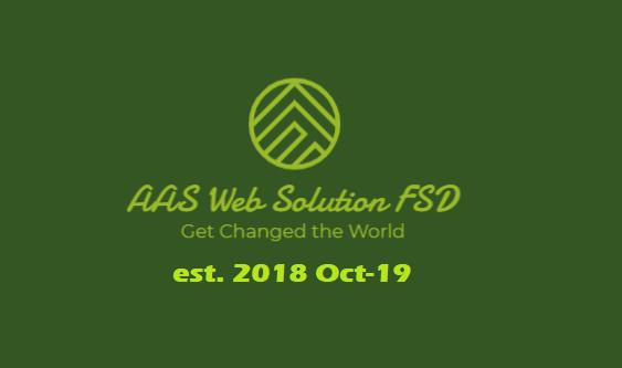AAS Web Solution offering Website Designing & Web Development in Mansorabad, Faisalabad