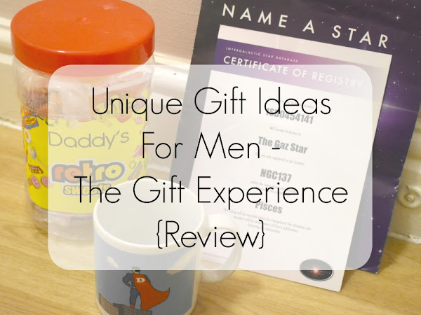 {AD/Review} Unique Gift Ideas For Men - The Gift Experience