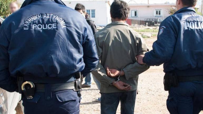 Συνελήφθη 27χρονος αλλοδαπό στη δομή φιλοξενίας στο Κουτσόχερο