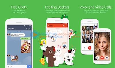 Download Aplikasi LINE 7.3.0 Android Terbaru APK