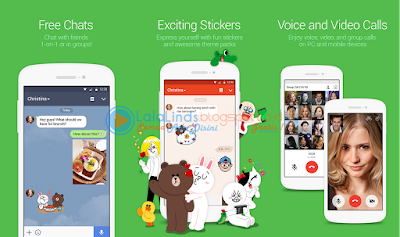 Download Aplikasi LINE 7.6.3 Android Terbaru APK