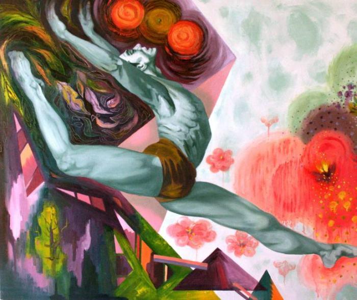 Южнокорейский художник. Miae Cho