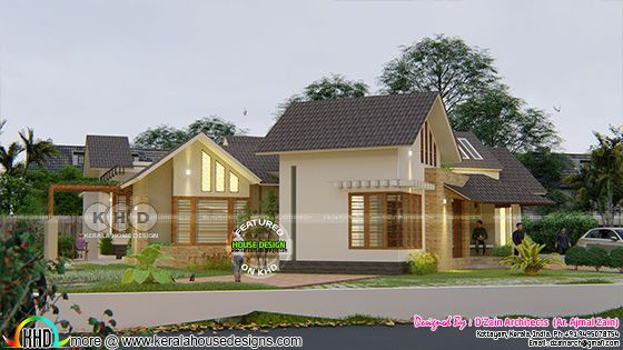 Modern contemporary style home view 2