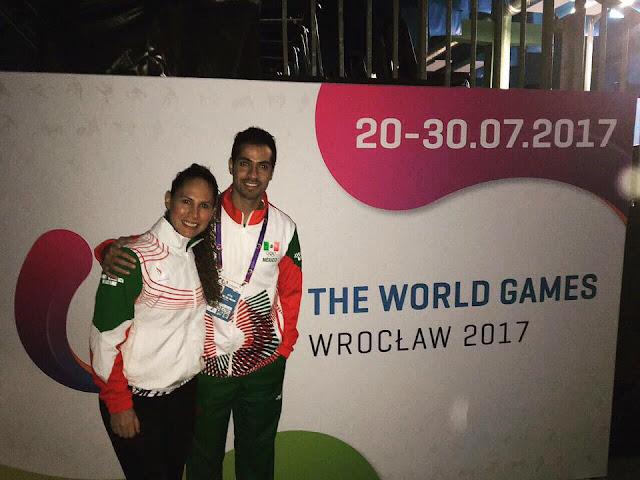 Los representantes de México en Squash de Juegos Mundiales 2017, Samantha Terán y César Salazar, fueron eliminados en octavos de final