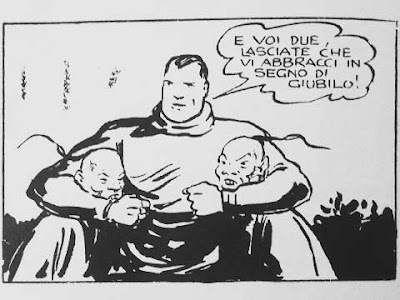 Dick Fulmine alle prese con i cinesi in un fumetto fascista