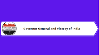 Governor General and Viceroy of India