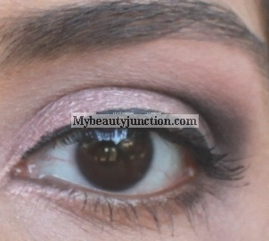 EOTD: Subtle smoky eye makeup look with Urban Decay N@ked3 palette