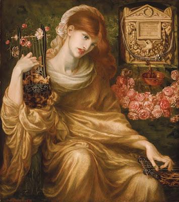 La viuda romana, Dante Gabriel Rossetti
