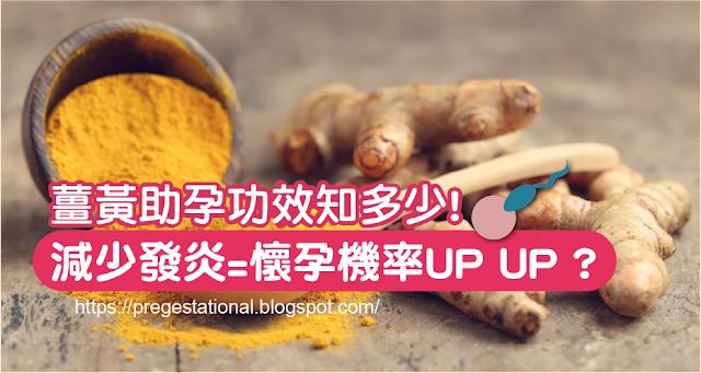 薑黃功效、助孕、抗發炎懷孕