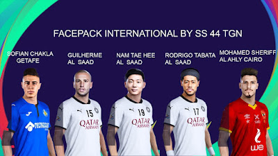 PES 2021 Facepack International by SS 44
