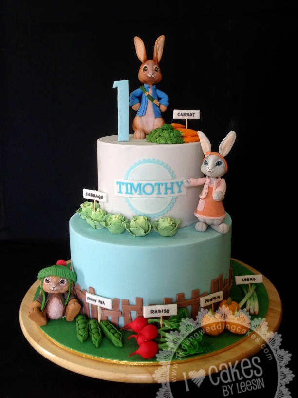 Penang Wedding Cakes By Leesin Peter Rabbit Friends Cake
